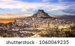 impressive view of medieval... | Shutterstock . vector #1060069235