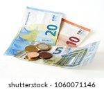 micro loan offer. little bit of ... | Shutterstock . vector #1060071146