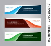 abstract modern banner... | Shutterstock .eps vector #1060102142