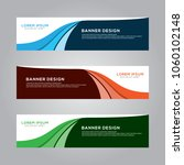 abstract modern banner... | Shutterstock .eps vector #1060102148