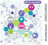 employee engagement business...   Shutterstock .eps vector #1060110662