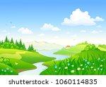 vector cartoon drawing of a... | Shutterstock .eps vector #1060114835