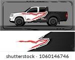 modern truck graphic. abstract... | Shutterstock .eps vector #1060146746
