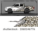 modern truck graphic. abstract... | Shutterstock .eps vector #1060146776