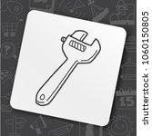 icon idea art fire sign | Shutterstock .eps vector #1060150805