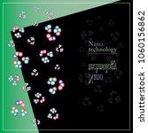 nano technology vector  | Shutterstock .eps vector #1060156862