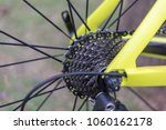 gear bike  road bike with steel ... | Shutterstock . vector #1060162178