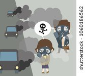 air pollution is serious... | Shutterstock .eps vector #1060186562