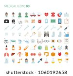 medical color icons mega set.... | Shutterstock .eps vector #1060192658