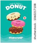 vintage food poster design with ... | Shutterstock .eps vector #1060217108