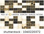 100 universal gradient golden... | Shutterstock .eps vector #1060220372