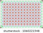 colorful horizontal pattern for ... | Shutterstock . vector #1060221548
