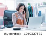 online sales are answering... | Shutterstock . vector #1060227572