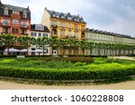 residential buildings on...   Shutterstock . vector #1060228808