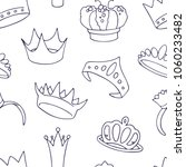 seamless vector pattern with a...   Shutterstock .eps vector #1060233482