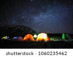 Camping In Tents On Mount...