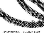 wheel track asphalt  vector | Shutterstock .eps vector #1060241105