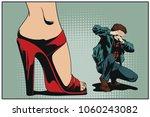 stock illustration. people in... | Shutterstock .eps vector #1060243082