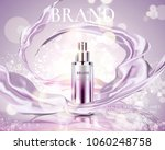 cosmetic essence ads  exquisite ... | Shutterstock .eps vector #1060248758