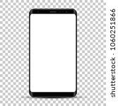 smartphone  realistic mobile... | Shutterstock .eps vector #1060251866