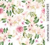 beautiful watercolor pattern... | Shutterstock . vector #1060261985