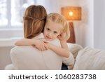 cute child. pleasant cute nice...   Shutterstock . vector #1060283738