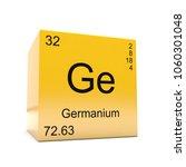 germanium chemical element...   Shutterstock . vector #1060301048
