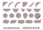 blank stickers icons for shop... | Shutterstock .eps vector #1060314218