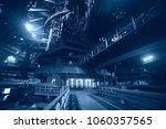 metallurgical production ...   Shutterstock . vector #1060357565