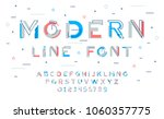 stylish modern abstract... | Shutterstock .eps vector #1060357775
