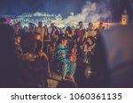 marrakech  morocco   circa july ...   Shutterstock . vector #1060361135