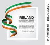 ireland flag background | Shutterstock .eps vector #1060366592