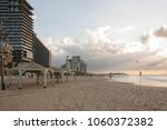 view of the sea and the beach ... | Shutterstock . vector #1060372382