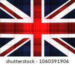 great britain flag vector... | Shutterstock .eps vector #1060391906