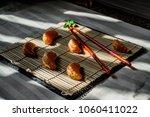 summery cookery. tangerine...   Shutterstock . vector #1060411022