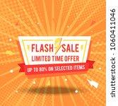 sale banner template design...   Shutterstock .eps vector #1060411046
