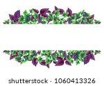 illustration of basil and... | Shutterstock . vector #1060413326