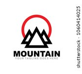 Mountain Icon Logo Design...