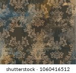 vintage classic ornament decor... | Shutterstock .eps vector #1060416512