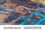aerial view and top view river... | Shutterstock . vector #1060420958
