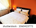 matrimonial twin bed. picture... | Shutterstock . vector #1060423772