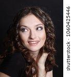 closeup. portrait of beautiful... | Shutterstock . vector #1060425446