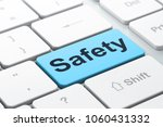 safety concept  computer... | Shutterstock . vector #1060431332