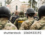squad of military special forces | Shutterstock . vector #1060433192