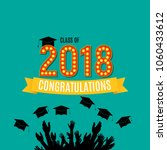 congratulations on graduation... | Shutterstock .eps vector #1060433612