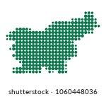 map of slovenia | Shutterstock .eps vector #1060448036