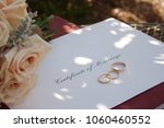 an envelope with 'certificate... | Shutterstock . vector #1060460552