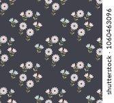 simple cute pattern in small... | Shutterstock .eps vector #1060463096