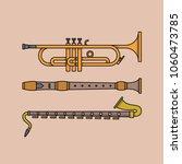 vector illustration of musical...   Shutterstock .eps vector #1060473785
