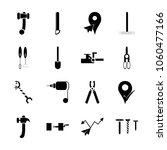 icon instruments and tools with ... | Shutterstock .eps vector #1060477166